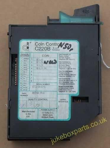 Coin Controls C220B (CM18)