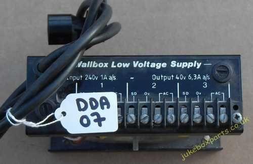 DDA Wall Box Power Supply (DDA07)
