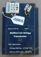 DDA Wall Box Low Voltage Transformer (DDA16)