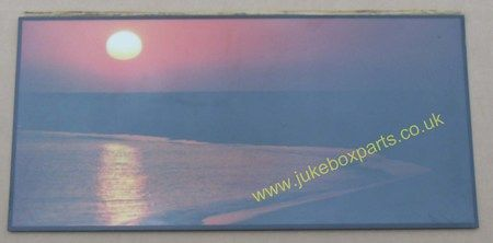 Glass with Horizon Backing Picture (GLA01)