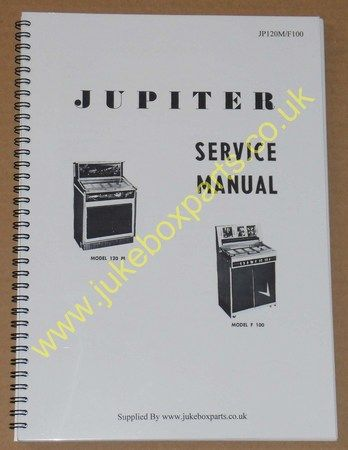 Jupiter 120M & F100 Models Service Manual & Spare Parts Catalogue