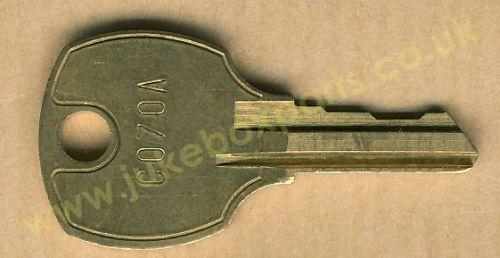 AMI C070-A Key