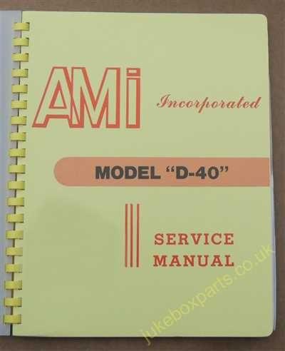 AMI Model D-40 Manual