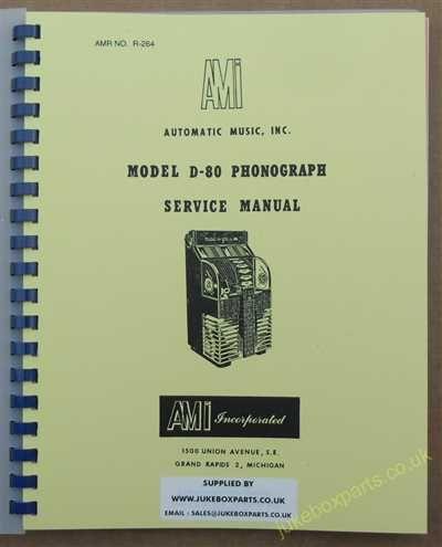 AMI Model D-80 Manual