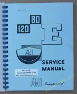 AMI Models E-80 & E-120 Manual