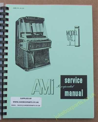 AMI Model I Manual (1958)