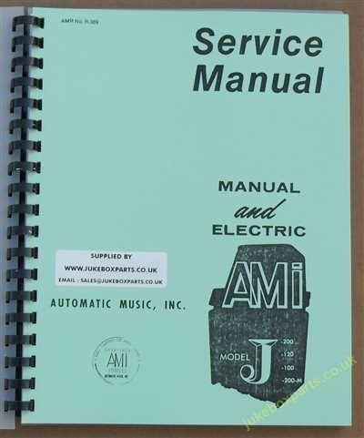 AMI Model J Series Manual