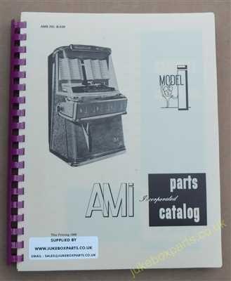 AMI Model I Parts Catalog