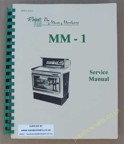 Rowe Ami MM-1 Manual (1967)
