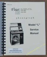 Rowe Ami JAL & JEL Manual (1963)
