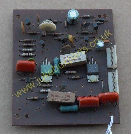 Rowe-Ami Amplifier PCB Model ? (AR253Q)