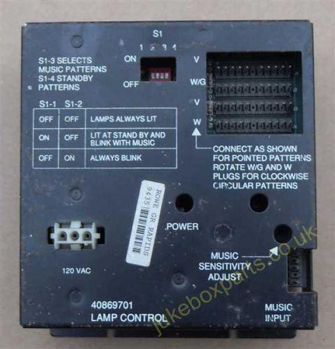 Rowe-Ami Lamp Control 40869701 (AR256)