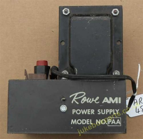 Rowe-Ami Power Supply for Wall Boxes Model PAA L-5627A (AR48)