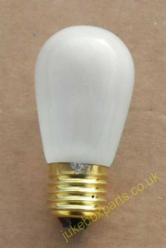 Frosted White Colour Bulb 130v 11w ES Used In Rowe-Ami (MB00F)