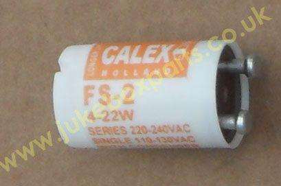Fluorescent Starter 4-22 watts 110v