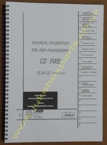 NSM CD Fire Manual