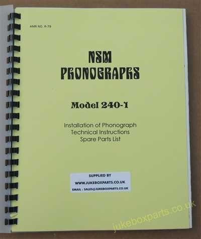 NSM 240-1 Manual (1982)