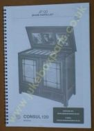 NSM CONSUL 120 Spare Parts Manual