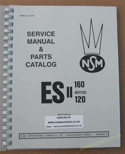 NSM ES11 Manual