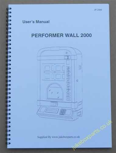 NSM PERFORMER WALL 2000 (HYPERBEAM) User Manual