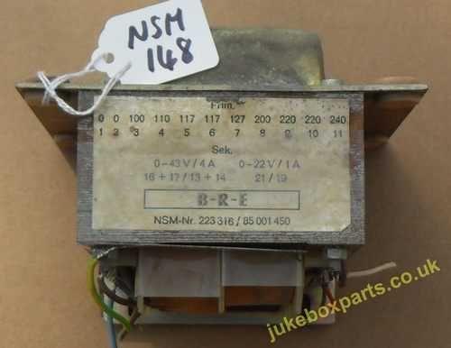NSM Transformer Nr 223316 - 85001450 (NSM148)