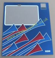 NSM CD Wall Mount Glass (NSM196)