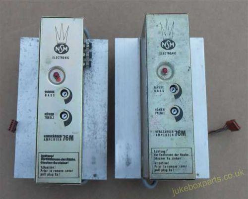 NSM Pair of Type 76M Amps (NSM64)