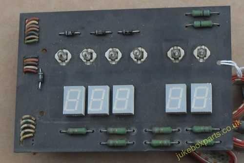 NSM Display Board Sach No 217567/62 (NSM97)