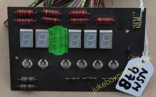 NSM Display Board Sach No 217567/62 (NSM97B)