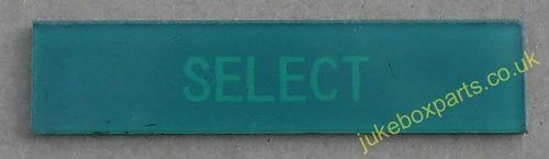 AMI I Select Insert for Credit Window Green (JP615)
