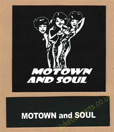 Seeburg V, VL & KD Drum Card & Classification Strip Motown & Soul Green (JP638)