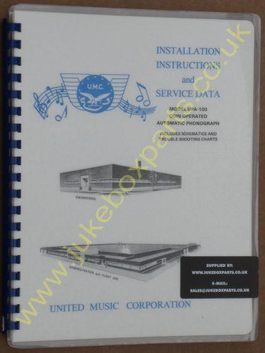 United UPA-100 Manual (1957-58)