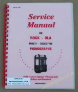 Rock-Ola 1939 Luxury Lightup PhonographService Manual