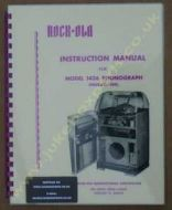 Rock-Ola 1436 Fireball-120 Manual (1952)