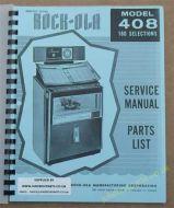 Rock-Ola 408 Rhapsody Manual (1963)