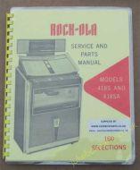Rock-Ola 418S, 418A Rhapsody Manual