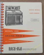 Rock-Ola 426 Grand Prix II Manual (1965)