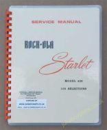 Rock-Ola 429 Starlet Manual (1965)