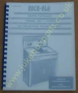 Rock-Ola 431 Coronado Parts Manual