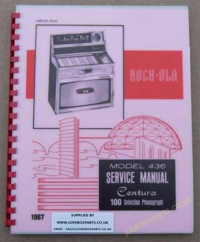 Rock-Ola 436 Manual (1967)