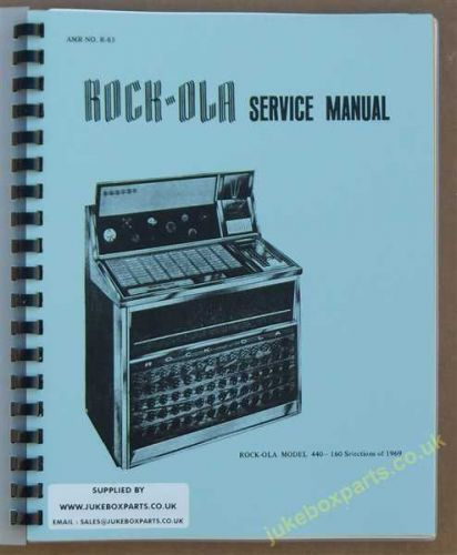 Rock-Ola 440 Psychedelic Manual (1969)