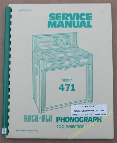 Rock-Ola 471 Manual (1977)