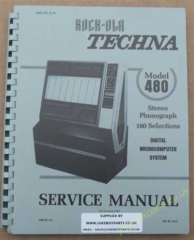 Rock-Ola 480 Techna Manual (1979)