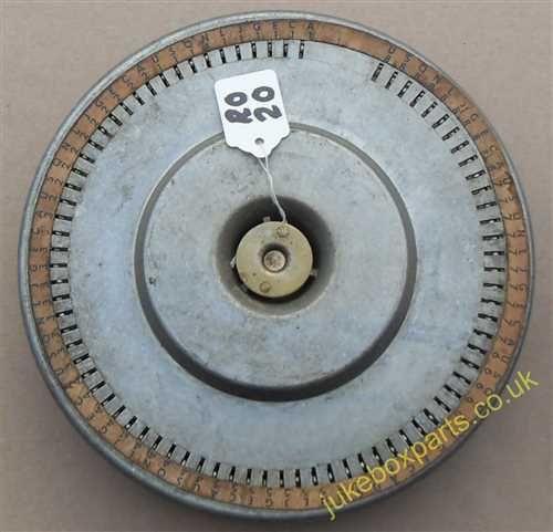 Rock-Ola Popularity Wheel 160 Selection (RO20)
