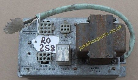Rock-Ola Wall Box Converter Model 1775 Part No 52325-A (RO258)