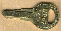 Seeburg F-278 Key