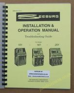 Seeburg 101, 161 & 201 Installation & Operation Manual & Troubleshooting Guide