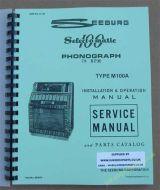 Seeburg M100A Service Manual & Parts Catalogue