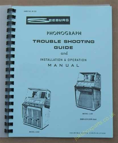 Seeburg KS200, KD200 & L100 Installation, Operation & Trouble Shooting Guide