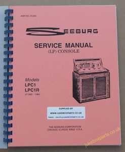 Seeburg LPC1 & LPC1R Service Manual (1963-64)